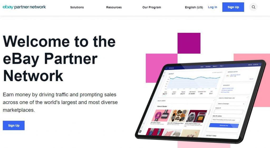 ebay best affiliate marketing program