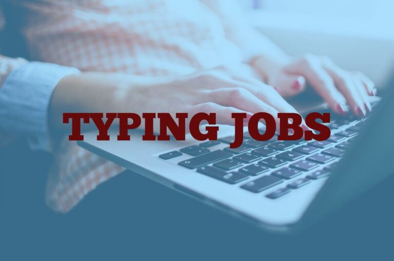 typing job from home