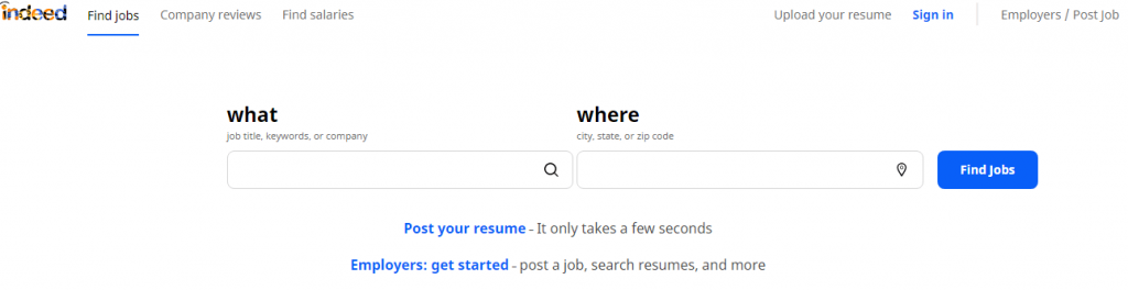 job listing websites