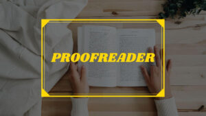 How to become a proofreader