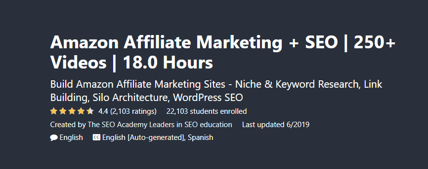 10 Best Affiliate Marketing Courses For Beginners (2020) 1