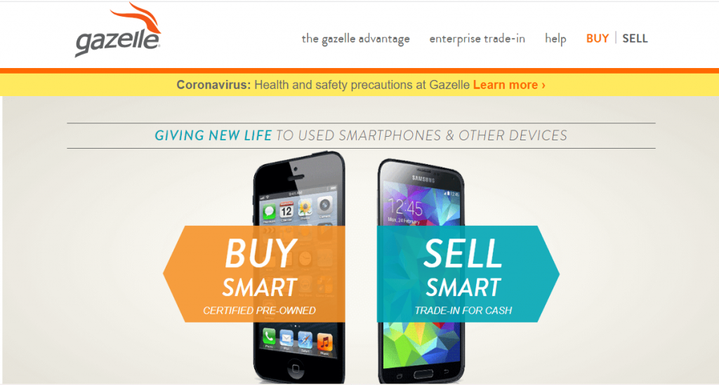 sell used smartphones