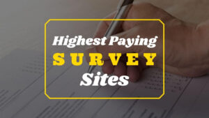 Highest Paying Survey Sites