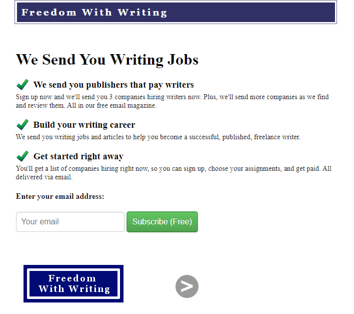 blogging job websites