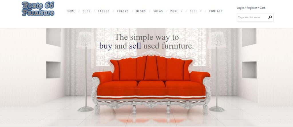 sell used furniture online