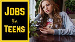 Best Jobs For Teens