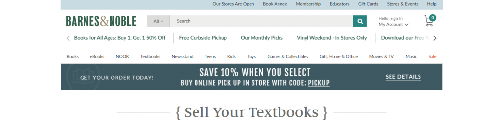 best places to sell textbooks