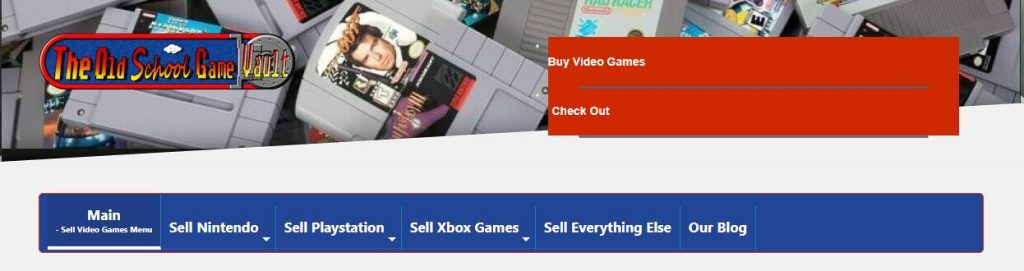 sell vintage video games