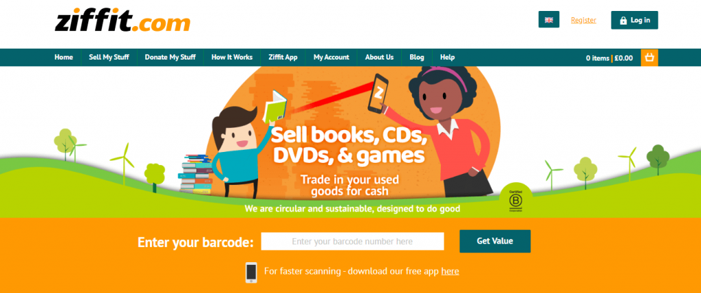 sell used DVDs online
