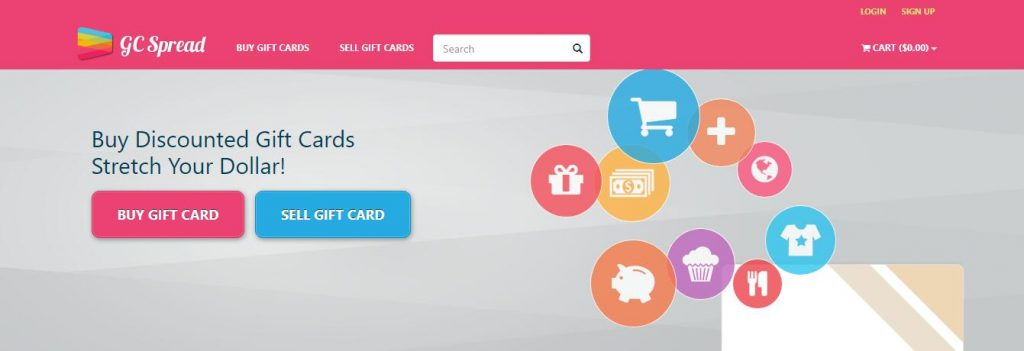 Buy discounted gift cards