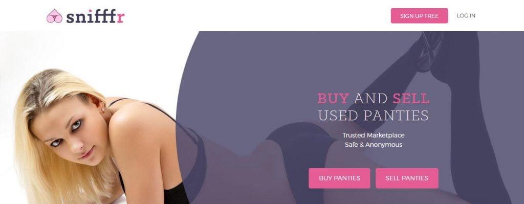 sell used panties online